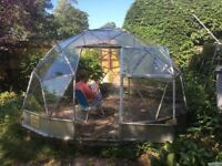 Geodesic Dome Glasshouse