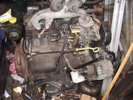 FORD TRANSIT 2.5 ENGINE