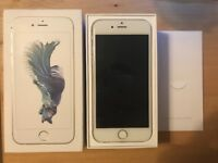 iPhone 6S 16GB in Silver on EE network
