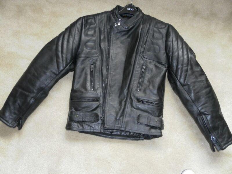 Gents Sportex Bison Leather Bikers Jacket for sale  Lytham St Annes, Lancashire