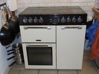 Leisure Electric Range Cooker (90 cm, Cream)