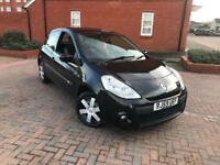 2009/59 RENAULT CLIO 1.1 EXTREME 3 DOORS LOW MILES ONLY 66k MILES METALLIC BLACK FREE WARRANTY