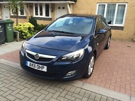 Vauxhall Astra 2011 Automatic