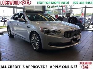 2015 Kia K900 ELITE - LOW LOW KM'S, TRADE IN