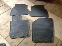 Rubber car mats for New Polo, Mini Baker St, Suzuki Celerio. Individual prices below