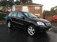 2007 MERCEDES ML 280 CDI ** FULL STAMPED SERVICE HISTORY ** ALL MAJOR CARDS ACCEPTED