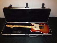 Fender American Deluxe Telecaster 2012 (Aged Cherry Burst , Maple Neck) + Hard Case