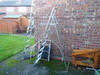 Step Ladder 7 Steps, 148cm or 4.93Feet