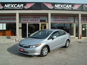 2012 Honda Civic LX* A/C CRUISE ONLY 78K