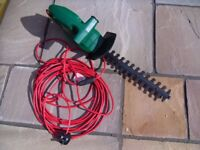 Qualcast Hedge Cutter Trimmer with Power Lead.