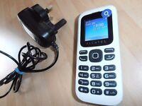 Alcatel one touch 132 Comes in WHITE /black