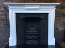Hob grate and surround beautifully refurbished DELIVERY £25 Max most uk