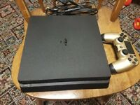 1 TB ps4 slim with all leads and gold controller