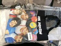 One direction tote bags NEW wholesale/joblot