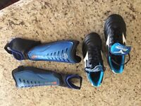 Size 5 Rugby Boots as new condition will include a set of shin guards