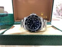 BrandNew Rolex Submariner Black Face Automatic Sweeping movement