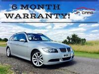 BMW 3 SERIES 325i SE Auto ***FREE 6 MONTH WARRANTY*** (silver) 2006