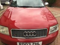2003 Audi S6 Avant in RED. 4.2 v8 on LPG one of the last on production with service history