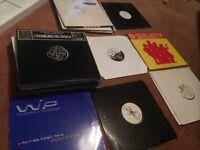 "50 House Music records DJ 12"" singles"
