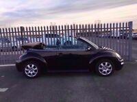 2004 Volkswagen Beetle 2,0 litre 3dr convertible