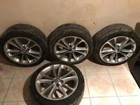 "Genuine VW Alloy wheels 17"" Golf/Jetta/Passat"