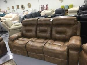 ifurniture Hot Deals --Reclining 3 seats Sofa for $679,love seat for $559