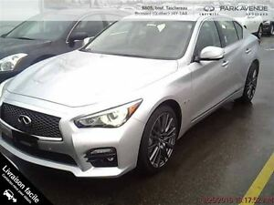 2016 Infiniti Q50 **Red Sport 400 AWD, comme neuf**