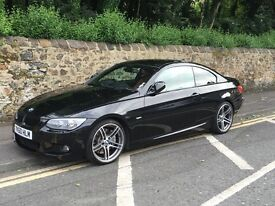 BMW 335D Msport Coupe Lci Damaged Repairable cat d