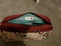 Rosebud changing bag