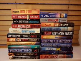 Large Job lot of 200+ Books James Patterson, Dan Brown, over 100 Core Strength Training