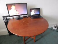 Adjustable table £20, and brought to you!