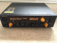 Markbass: Little Mark 250 Black Line Bass Head - Bundle inc hard case and cable (£185 ONO)