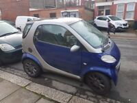 2001 Smart Car Coupe Softouch w/Panoramic Roof***Long MOT***