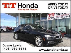 2016 BMW 3 Series 320i xDrive *No Accidents, Low KMS. AWD*