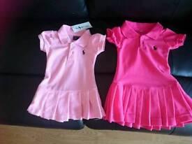 Girls polo dresses