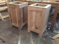Patio/front door planter boxes
