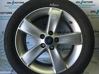 FORD GALAXY MK3 S-MAX 2007-2014 ALLOY WHEEL R17 WITH 4.5 MM TYRE BD56-2