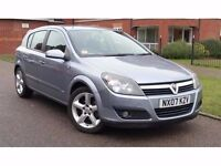 2007 Vauxhall Astra 1.8 i 16v SRi 5dr **F/S/H+LOW MILES+IMMACULATE**