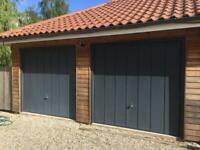 Garador garage doors, anthracite grey