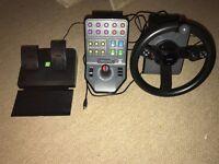 PC Logitech G Saitek Farming Simulator Controller