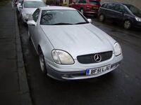 2001 mercedes slk 200 manual 6 speed silver £2495 Reduced
