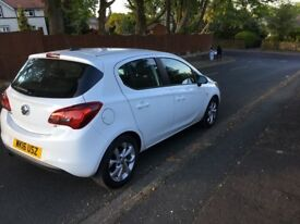 5 door white corsa for sale