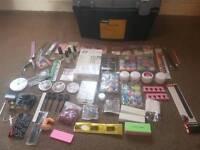 acrylic kit with storage box