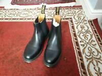Dr Martin's dealer boots size 8