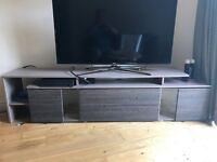 TV Stand Unit with LED ambient lights