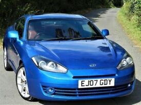 RED LEATHER (2007) HYUNDAI COUPE SIII 2.0 - LEATHER - FSH - 10 MONTHS MOT - EXCELLENT CONDITION