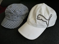 GOLF CAPS IN NEW & MINT CONDITION - £5 - CASH ON COLLECTION ONLY