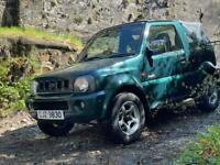 For sale Suzuki jimny jlx 4wd 1.3 51k miles 2200£