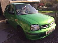 S reg nissan micra. Only 81000 miles