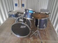Drum Kit, Good condition been tuned to play immediatly, good intermmediate kit.